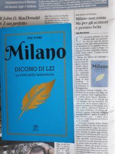 Milano dicono di lei Il giornale