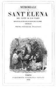 memoriale di sant'elena - elleboro editore